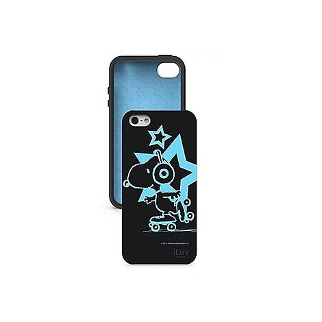 Custodia snoopy black iphone 5 icat381blk