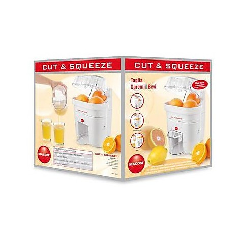 cut & squeeze 853 macom spremiagrumi tagliagrumi incorporato