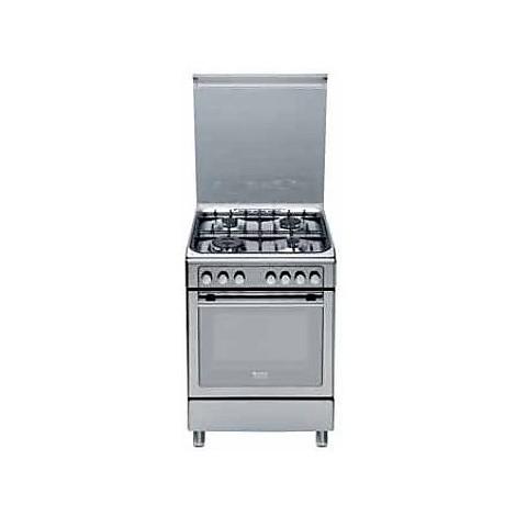 Cx 65s72x hotpoint ariston cucina inox 4 fuochi a gas cucine cucina 4 fuochi clickforshop - Cucina ariston 4 fuochi ...