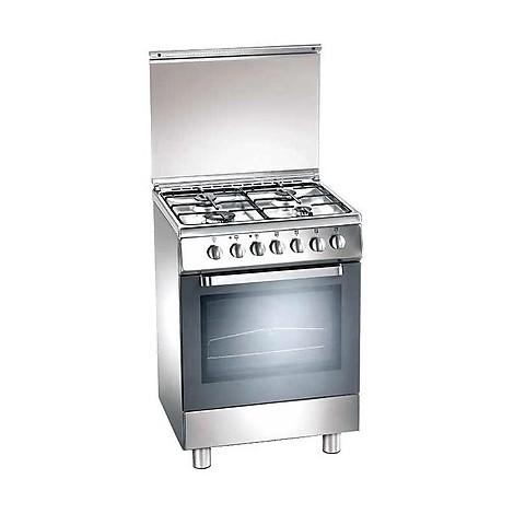 d-52nxs tecnogas cucina da 60 cm 4 fuochi a gas forno a gas inox