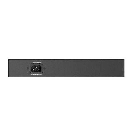 D-LINK DGS-1008MP switch desktop 8 porte LAN 10/100/1000Mbps colore nero