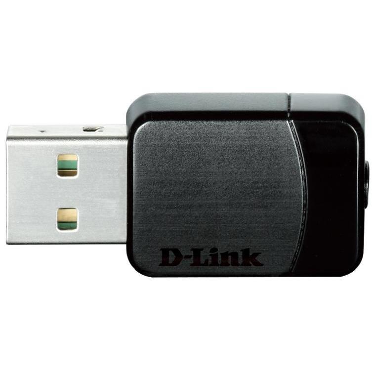 D-Link DWA171 Adattatore Nano USB Wireless AC Dual-Band colore nero