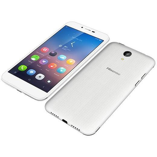 "d2 white hisense  5""ips hd 4g 2sim 4core 1/8gb smartphone android"