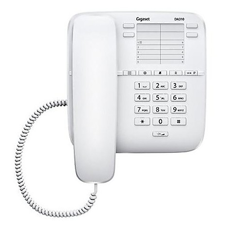da310 white siemens telefono con filo