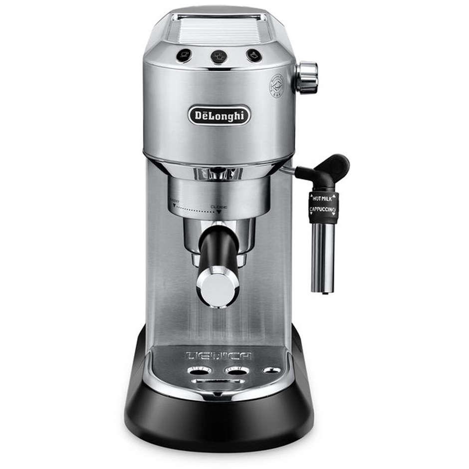 De Longhi EC 685.M Dedica Style Macchina del caffè 1300 W colore Metal + KG79 Macinacaffè
