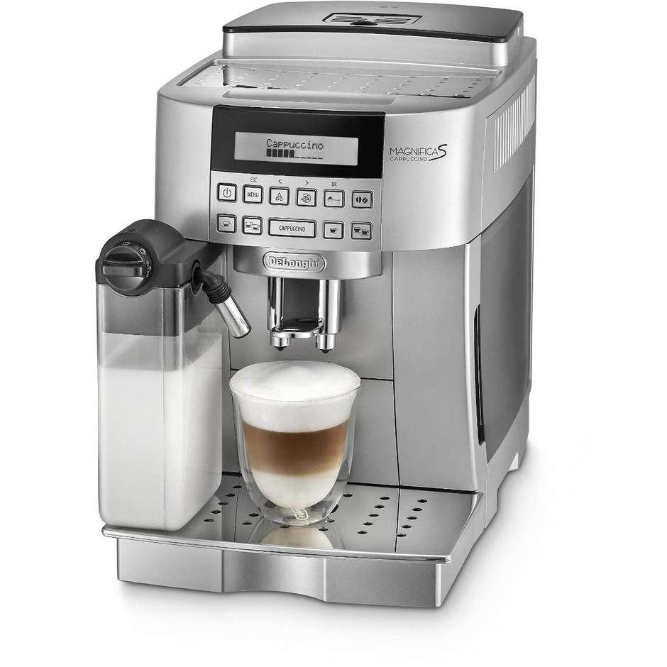 De Longhi ECAM 22.360.S macchina da caffè 1450 W capacità 1,8L  Argento
