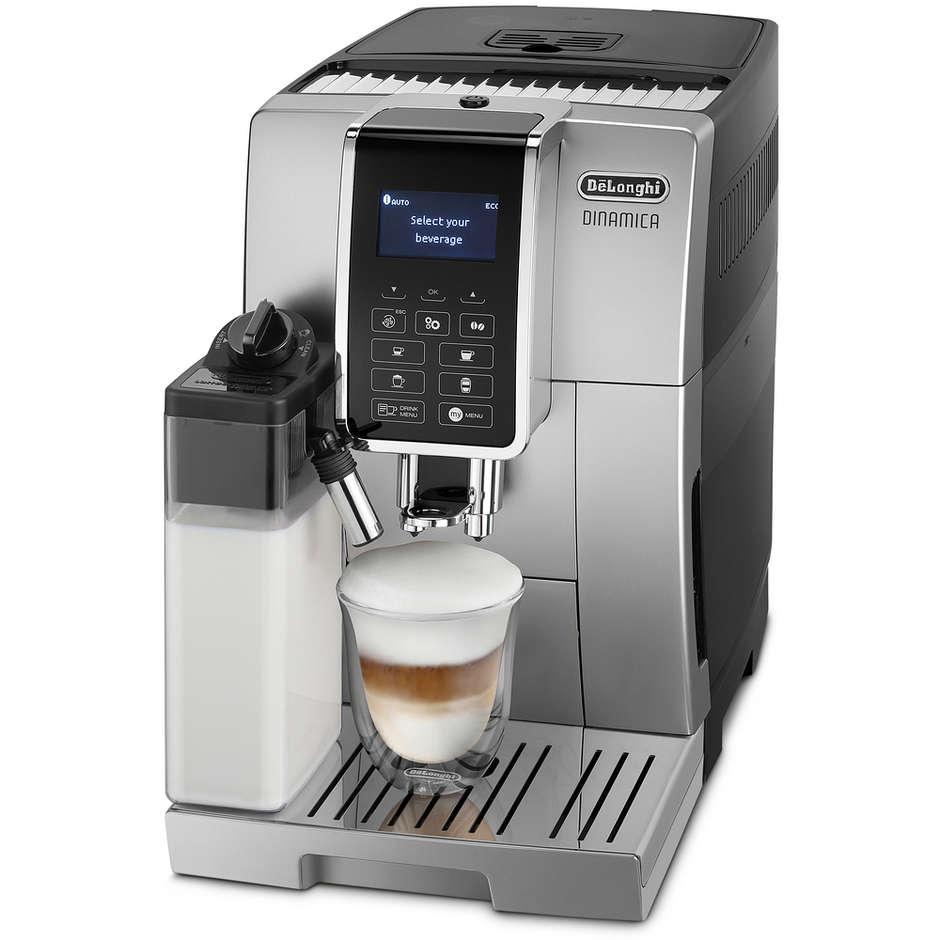 De Longhi ECAM 355 Dinamica macchina del caffè superautomatica potenza 1450 Watt colore silver
