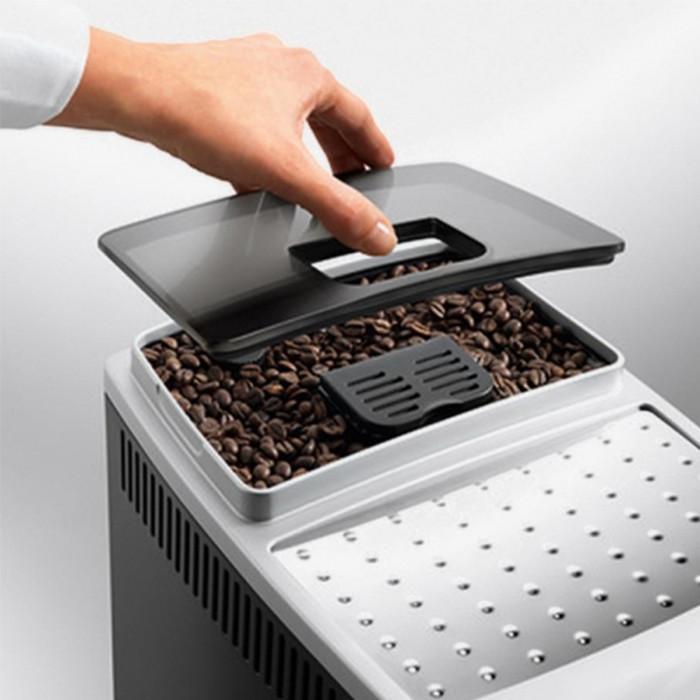 De Longhi ECAM21.117SB Magnifica S macchina del caffè 1450 W capacità 1,8L Cappuccino System Nero, Argento