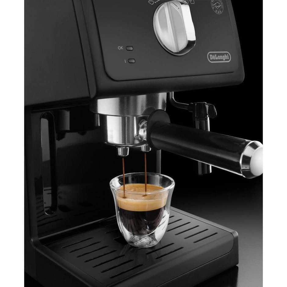 De Longhi ECP 31.21 macchina del caffè polvere/cialde potenza 1100 Watt colore nero