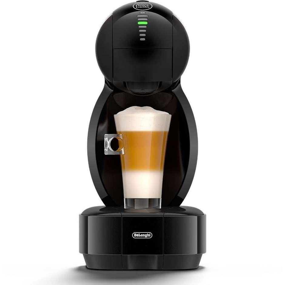De Longhi EDG355.B1 Colors macchina del caffè espresso + 48 capsule Nescafè Doce Gusto colore Nero