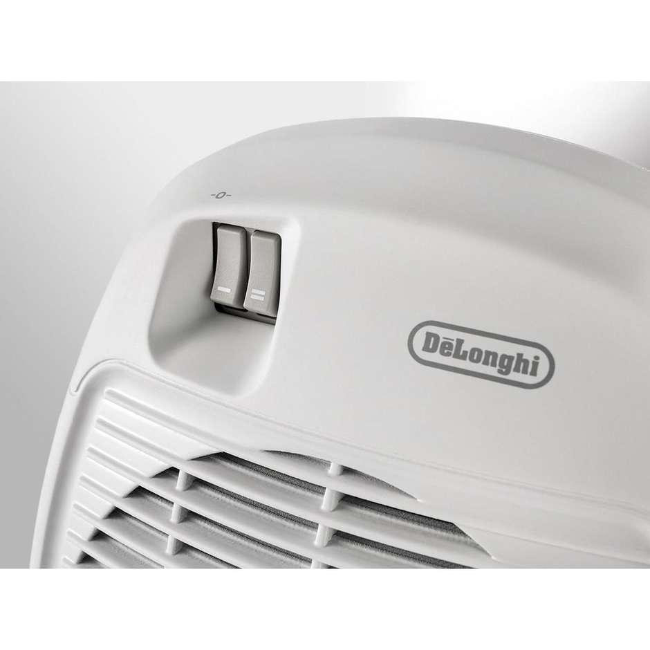 De Longhi HVA 0220 termoventilatore 2000 watt 2 potenze colore bianco