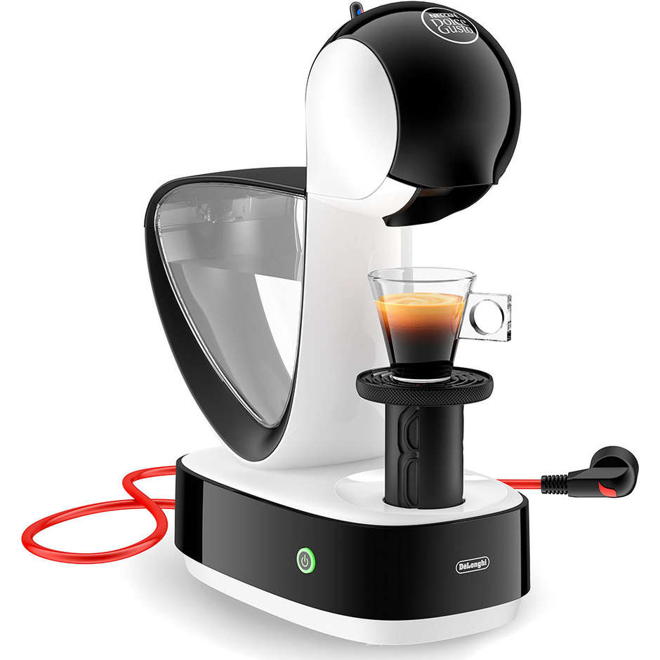 De Longhi Infinissima EDG260.W Macchina del caffè Capacità 1,2 Litri 15 Bar colore Bianco + 32 capsule