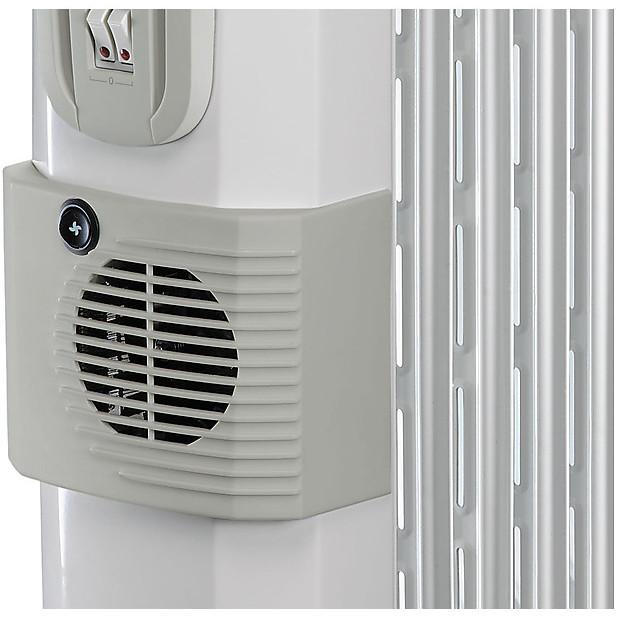 De Longhi KH770720V Hor radiatore ad olio 7 elementi potenza max 1500 Watt colore bianco