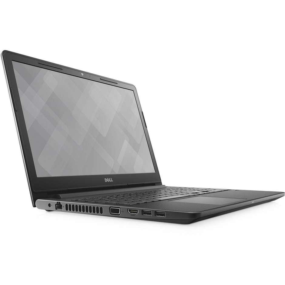 """Dell Vostro 3568 397HX Notebook 15,6"""" Intel Core i3-7020U Ram 4 GB HDD 1 TB colore Nero"""