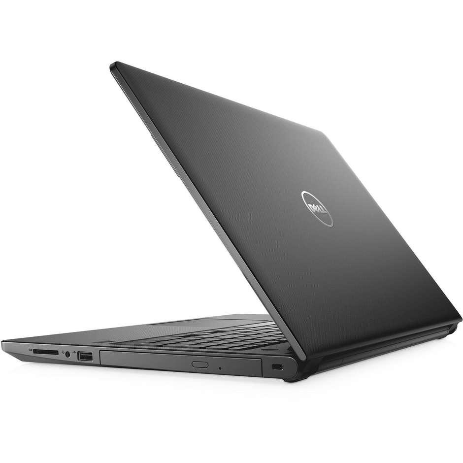 """Dell Vostro 3568 Notebook 15,6"""" Intel Core i3-7020U Ram 4 GB HDD 1 TB colore Nero"""