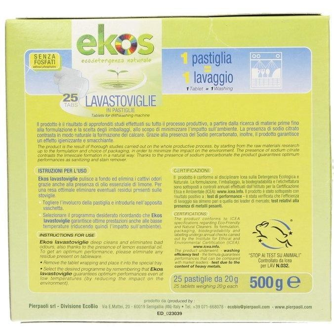 detergente eco pastiglie lavastoviglie cf012