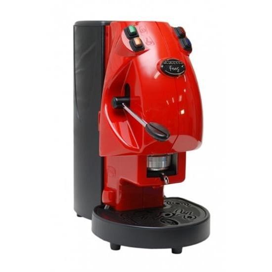 Didiesse Frog Base macchina del caffè a cialde senza cappuccinatore Colore Rosso