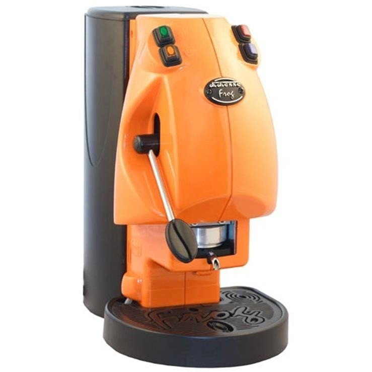 Didiesse Frog Base macchina per caffè a cialde senza cappuccinatore Colore Arancio