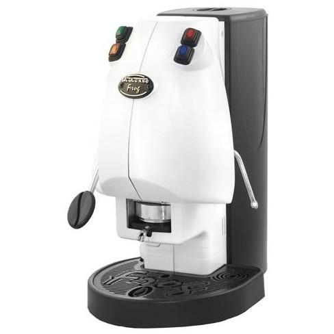 Didiesse Frog Revolution Vapor macchina del caffè a cialde con cappuccinatore colore bianco