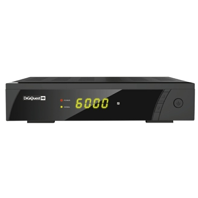 Digiquest 8010 HD decoder digitale satellitare Full HD HDMI USB