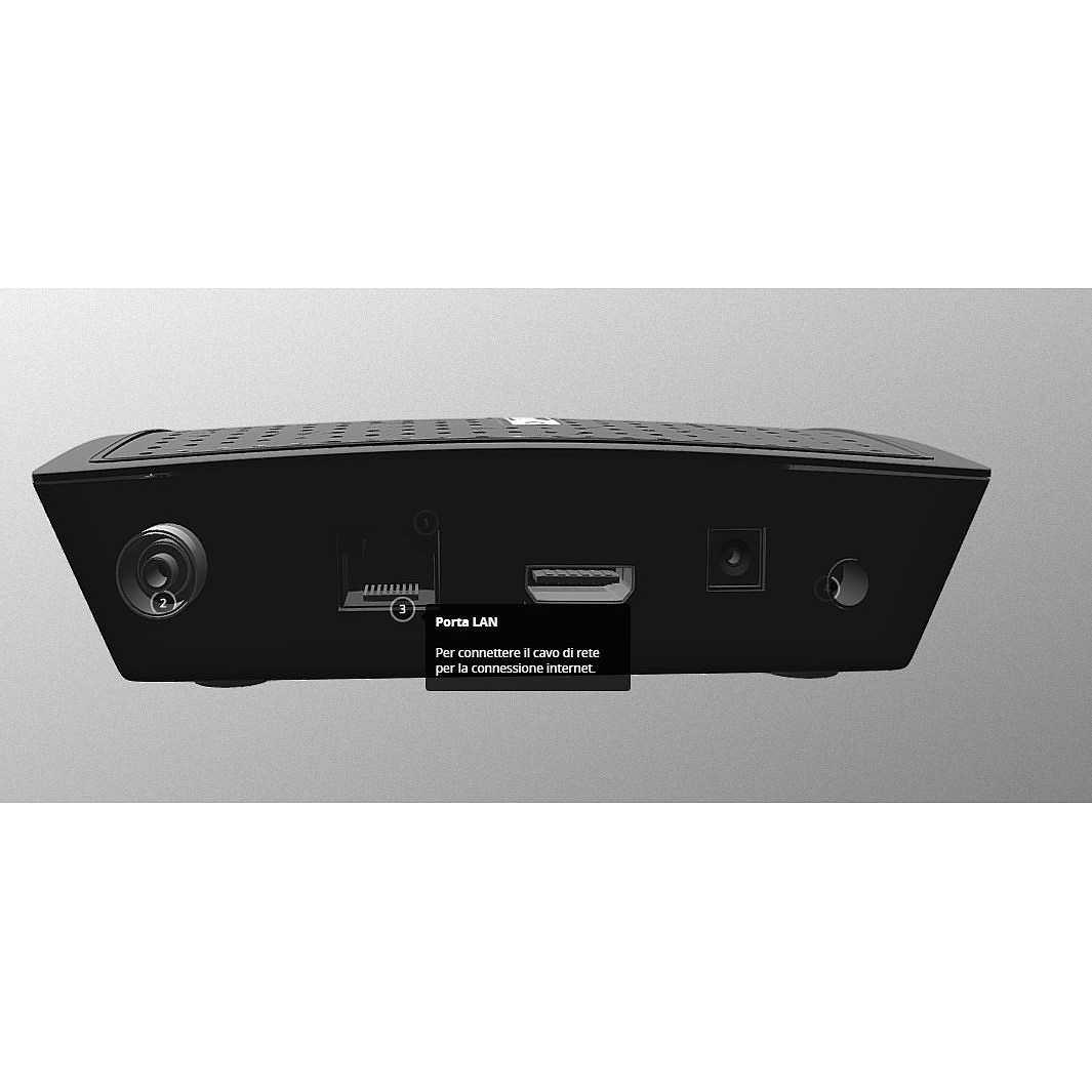 digiquest digicam hd  Digiquest DGQ900 HD 1sintonizzatore/sintonizzatori Nero Decoder ...