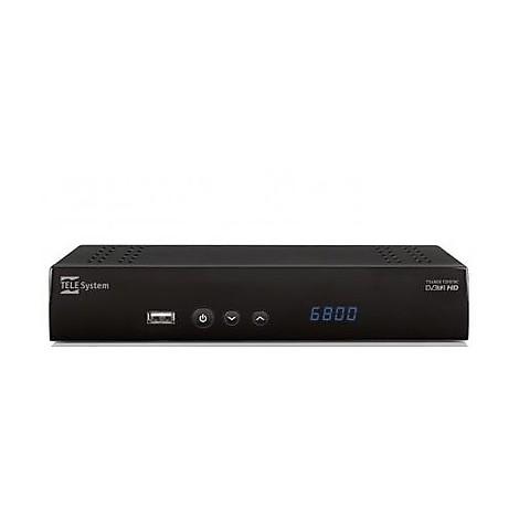 digitale terrestre ts6800 dvb-t2 hevc zapper hd
