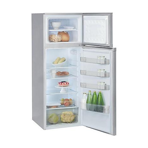 dpa-263al ignis frigo 2porte 230lt classe a+ statico 3 ripiani alluminio