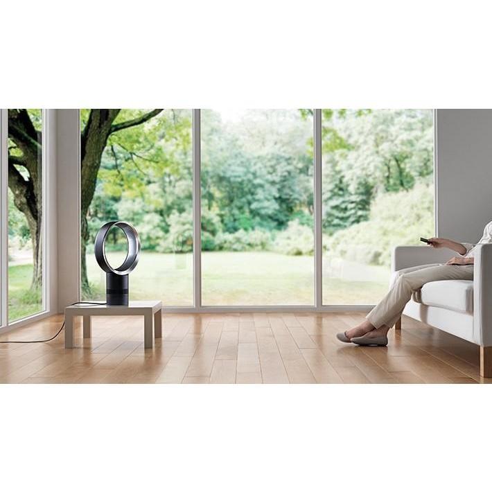 Dyson AM06 ventilatore da tavolo 30 cm senza pale bianco, argento