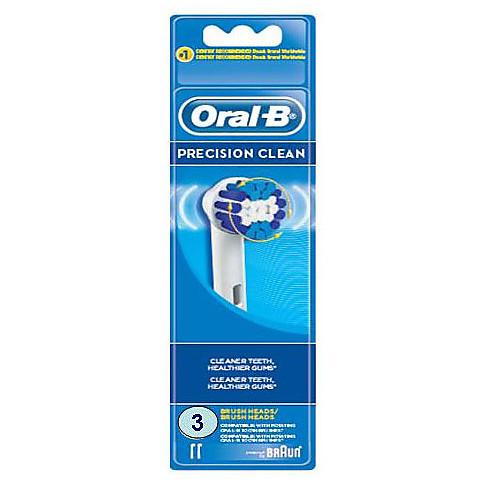 eb-20/3 braun spazzolini di ricambi Oral-B Precision Clean