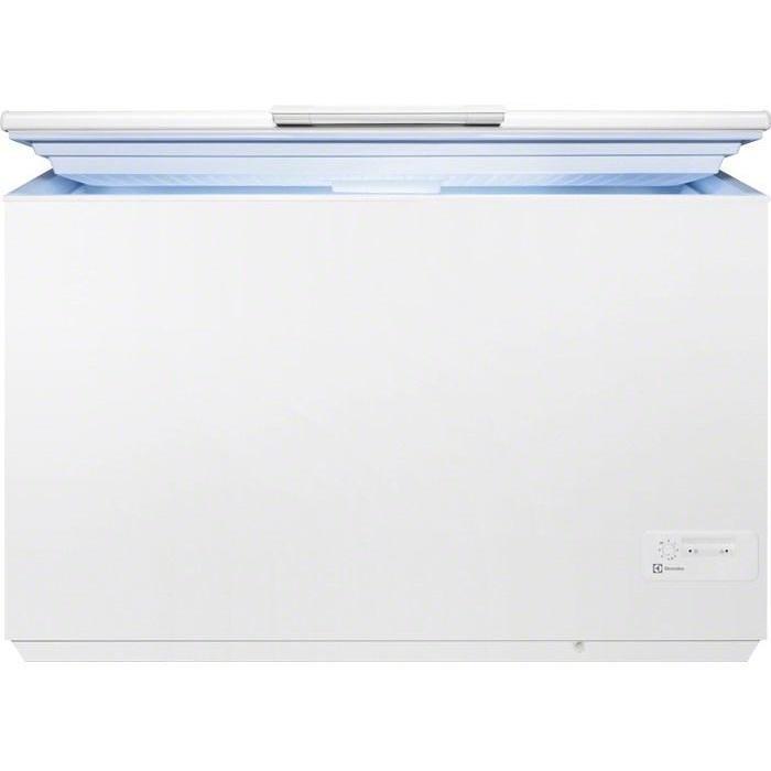 ec-4200aow1 electrolux congelatore orizzontale 260lt cl.a+ c/luce 19kg/24h bianco