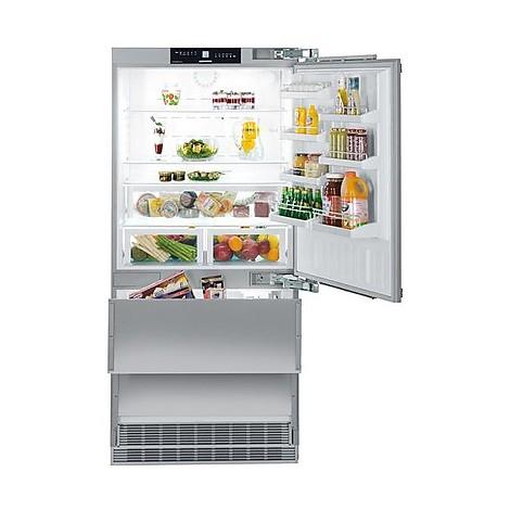 Ecn 6156 001 liebherr frigo combinato da incasso frigo e for Frigo 90 cm