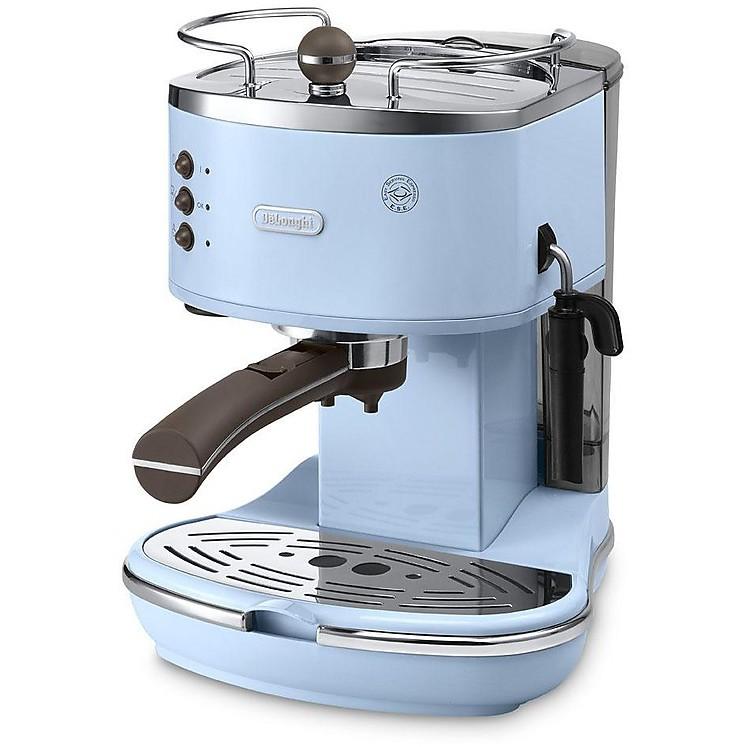 eco-v310.az delonghi macchina del caffe' azzurra