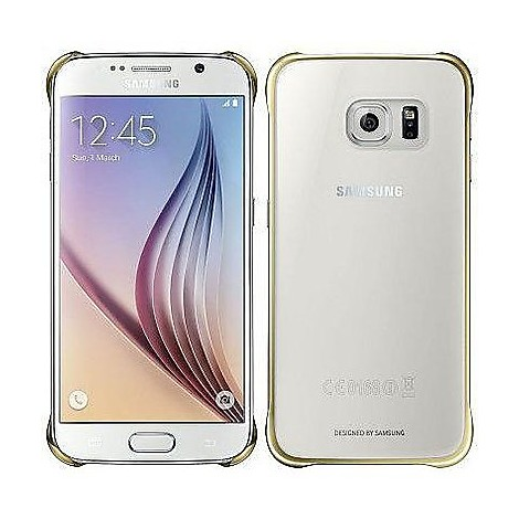 ef-qg920bfeg clear cover gold samsung s6