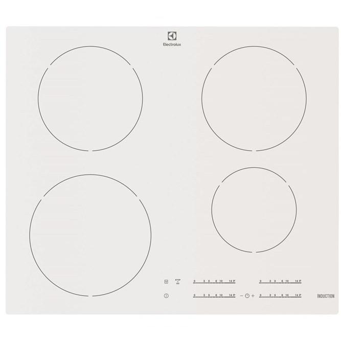 ehh-6540fw1 electrolux piano cottura a induzione 4 zone cottura 60 cm bianco