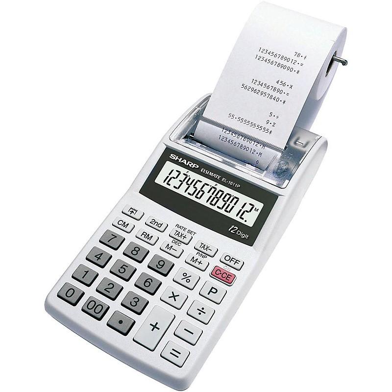 el-1611pgy sharp calcolatrice scrivente 12 cifre