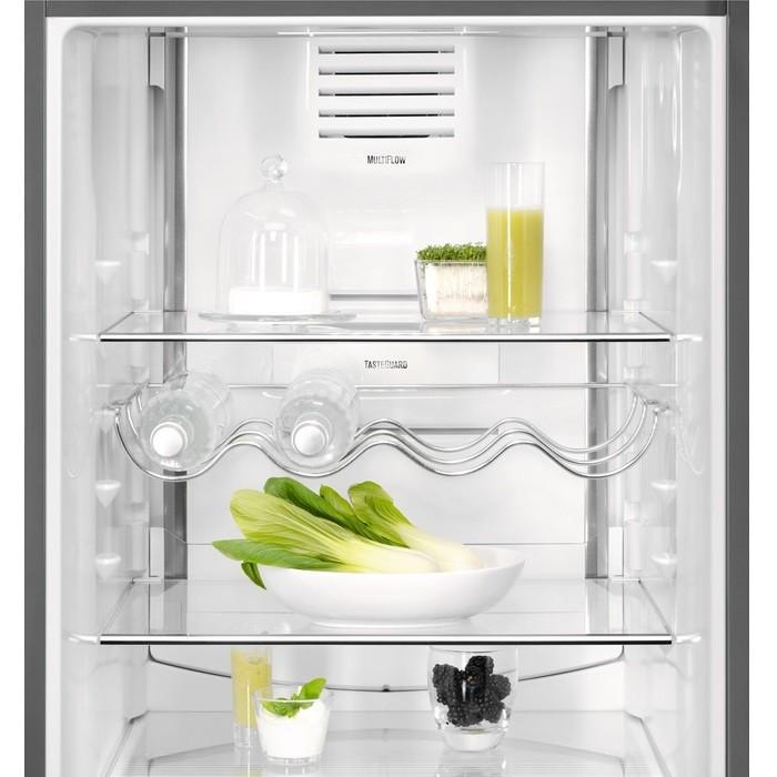 Electrolux EN3790MFX frigorifero combinato 352 litri classe A++ No Frost colore inox