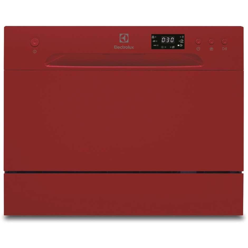 Electrolux ESF2400OH lavastoviglie compatta 6 coperti 5 programmi classe A+ colore rosso