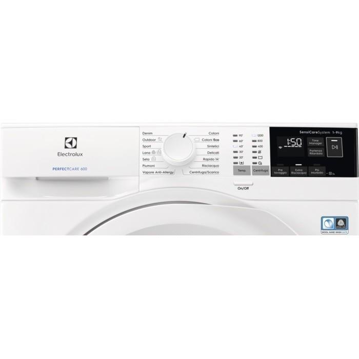 Electrolux EW6F492Y lavatrice carica frontale 9 Kg 1200 giri classe A+++ colore bianco