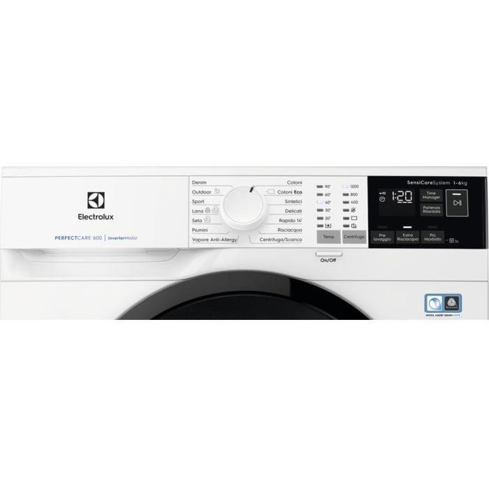 Electrolux EW6S462B lavatrice snella 38 cm 6 Kg 1200 giri classe A+++-10%