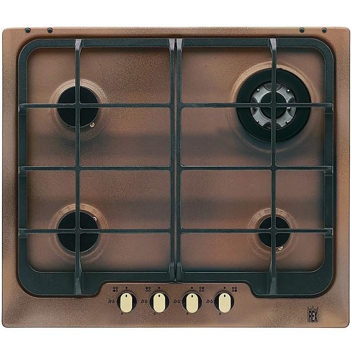 Electrolux PR640RUOV piano cottura a gas 60 cm 4 fuochi griglie in ...