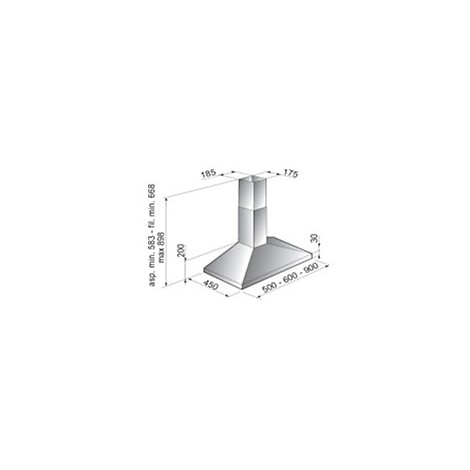 eletta-90 tecnowind cappa da 90 cm