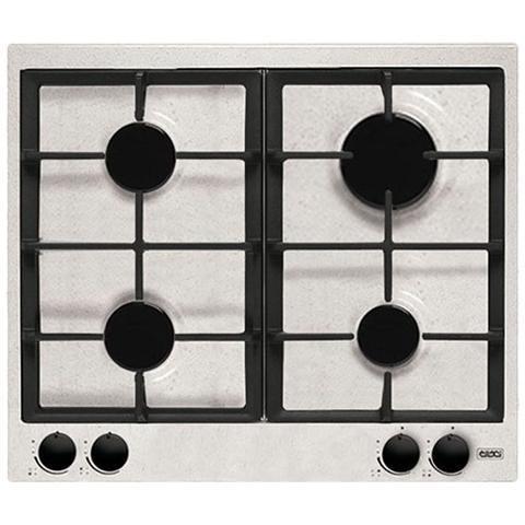 Elleci PGSS60352NNG Style piano cottura a gas 60 cm 4 fuochi colore bianco
