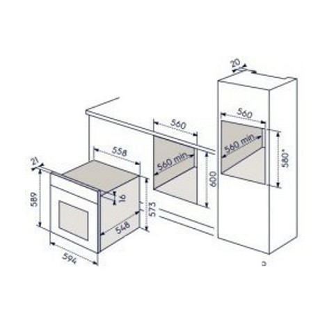 eob-5414aox electrolux forno classe a inox