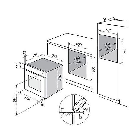eob-9956vax electrolux forno da incasso classe a inox
