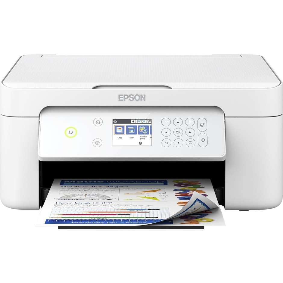 Epson XP-4105 Expression Home Stampante multifunzione 3in1 Wifi colore bianco