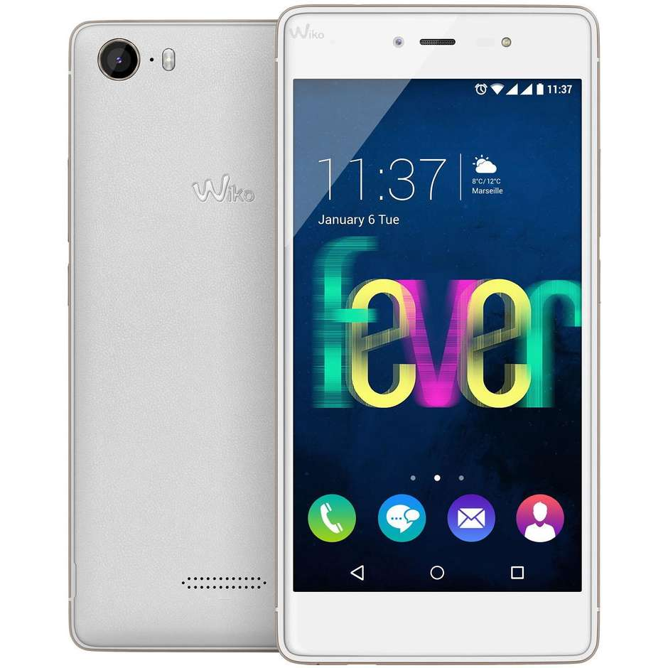 "fever white wiko 5,2""fhd 4g 8core 3/16gb 13/5mp smartphone android"