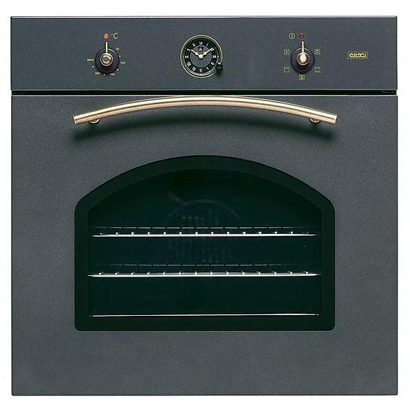 fgsr60459ny elleci forno da incasso 5 funzioni rustico antracite 59 manopole ottone
