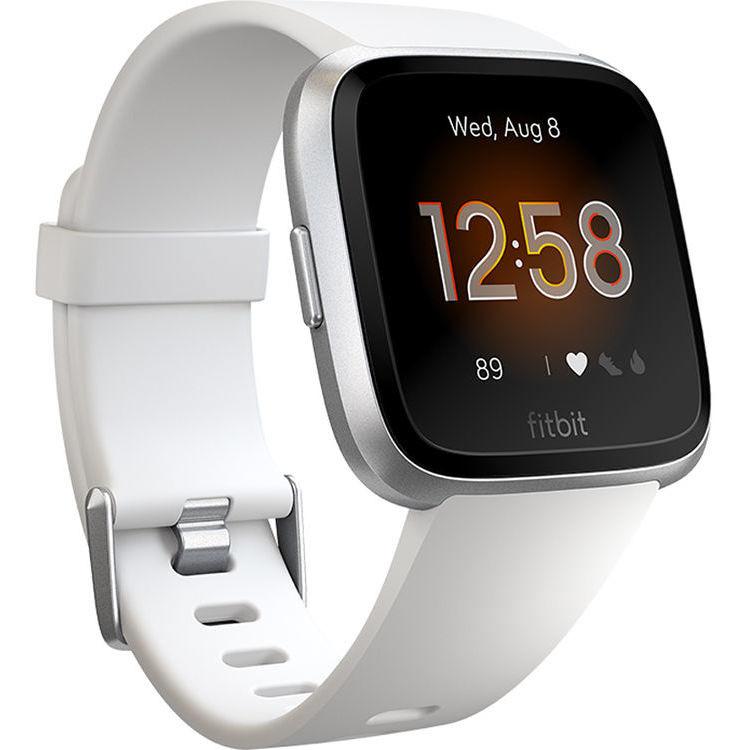 Fitbit FB415SRWT Versa Lite Edition Smartwatch bluetooth autonomia 4 giorni colore Bianco