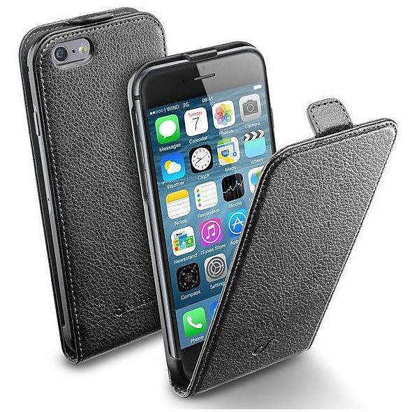 flapessiph647k cellular line flap black iphone 6