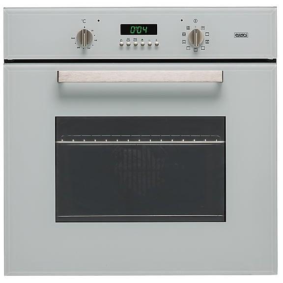 fmvm60179ns elleci forno da incasso 9 funzioni moderno aluminium 79 manopole silver